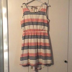 Open back sleeveless dress